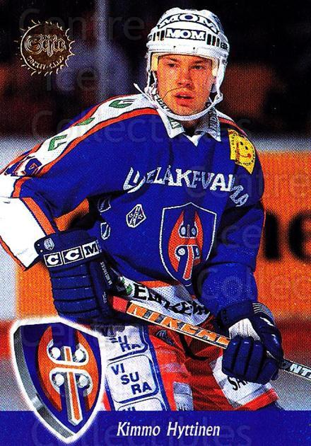 1994-95 Finnish SISU #355 Kimmo Hyttinen<br/>3 In Stock - $2.00 each - <a href=https://centericecollectibles.foxycart.com/cart?name=1994-95%20Finnish%20SISU%20%23355%20Kimmo%20Hyttinen...&quantity_max=3&price=$2.00&code=150052 class=foxycart> Buy it now! </a>