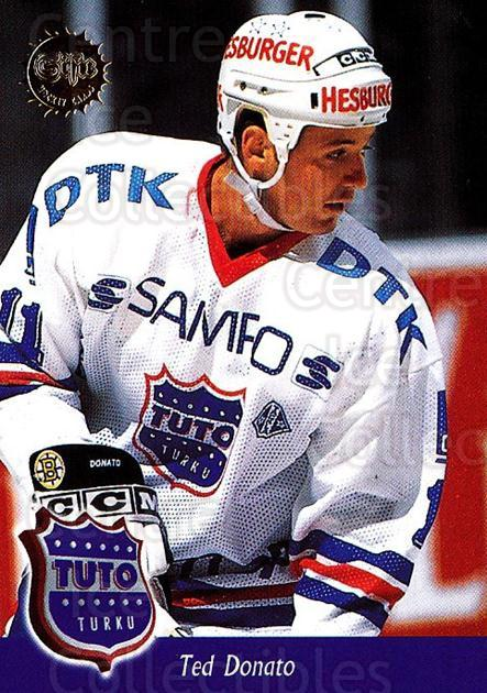 1994-95 Finnish SISU #357 Ted Donato<br/>1 In Stock - $2.00 each - <a href=https://centericecollectibles.foxycart.com/cart?name=1994-95%20Finnish%20SISU%20%23357%20Ted%20Donato...&quantity_max=1&price=$2.00&code=150054 class=foxycart> Buy it now! </a>