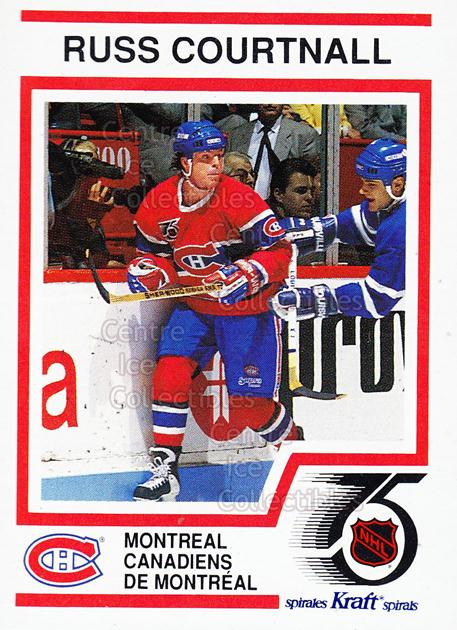1991-92 Kraft ( Red Backs ) #49 Russ Courtnall<br/>10 In Stock - $2.00 each - <a href=https://centericecollectibles.foxycart.com/cart?name=1991-92%20Kraft%20(%20Red%20Backs%20)%20%2349%20Russ%20Courtnall...&quantity_max=10&price=$2.00&code=15005 class=foxycart> Buy it now! </a>