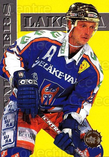1994-95 Finnish SISU #377 Pekka Laksola<br/>2 In Stock - $2.00 each - <a href=https://centericecollectibles.foxycart.com/cart?name=1994-95%20Finnish%20SISU%20%23377%20Pekka%20Laksola...&quantity_max=2&price=$2.00&code=150075 class=foxycart> Buy it now! </a>