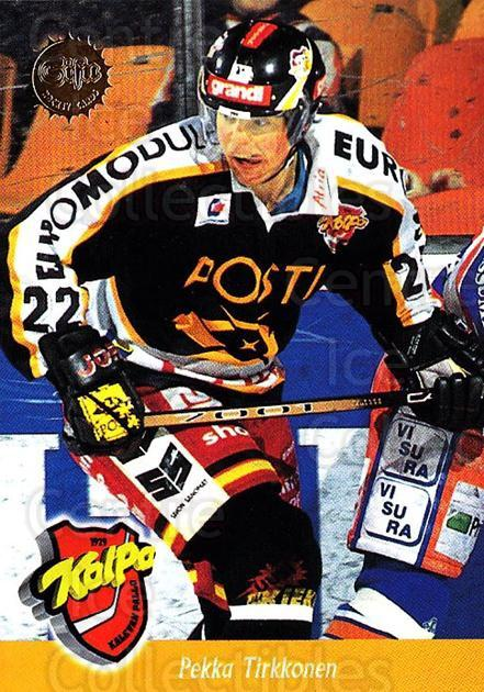 1994-95 Finnish SISU #40 Pekka Tirkkonen<br/>3 In Stock - $2.00 each - <a href=https://centericecollectibles.foxycart.com/cart?name=1994-95%20Finnish%20SISU%20%2340%20Pekka%20Tirkkonen...&quantity_max=3&price=$2.00&code=150099 class=foxycart> Buy it now! </a>
