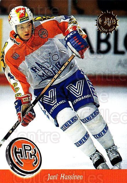 1994-95 Finnish SISU #42 Jani Hassinen<br/>4 In Stock - $2.00 each - <a href=https://centericecollectibles.foxycart.com/cart?name=1994-95%20Finnish%20SISU%20%2342%20Jani%20Hassinen...&quantity_max=4&price=$2.00&code=150101 class=foxycart> Buy it now! </a>