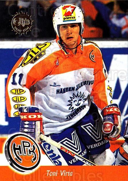 1994-95 Finnish SISU #46 Toni Virta<br/>4 In Stock - $2.00 each - <a href=https://centericecollectibles.foxycart.com/cart?name=1994-95%20Finnish%20SISU%20%2346%20Toni%20Virta...&quantity_max=4&price=$2.00&code=150104 class=foxycart> Buy it now! </a>