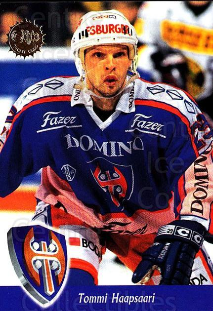 1994-95 Finnish SISU #60 Tommi Haapsaari<br/>4 In Stock - $2.00 each - <a href=https://centericecollectibles.foxycart.com/cart?name=1994-95%20Finnish%20SISU%20%2360%20Tommi%20Haapsaari...&quantity_max=4&price=$2.00&code=150119 class=foxycart> Buy it now! </a>