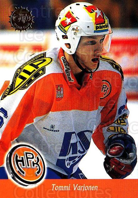 1994-95 Finnish SISU #74 Tommi Varjonen<br/>4 In Stock - $2.00 each - <a href=https://centericecollectibles.foxycart.com/cart?name=1994-95%20Finnish%20SISU%20%2374%20Tommi%20Varjonen...&quantity_max=4&price=$2.00&code=150134 class=foxycart> Buy it now! </a>
