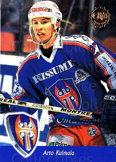 1994-95 Finnish SISU #78 Arto Kulmala<br/>3 In Stock - $2.00 each - <a href=https://centericecollectibles.foxycart.com/cart?name=1994-95%20Finnish%20SISU%20%2378%20Arto%20Kulmala...&quantity_max=3&price=$2.00&code=150138 class=foxycart> Buy it now! </a>