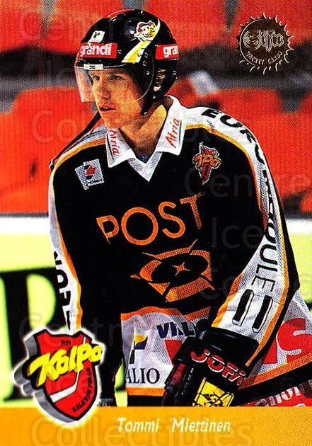 1994-95 Finnish SISU #86 Tommi Miettinen<br/>4 In Stock - $2.00 each - <a href=https://centericecollectibles.foxycart.com/cart?name=1994-95%20Finnish%20SISU%20%2386%20Tommi%20Miettinen...&quantity_max=4&price=$2.00&code=150146 class=foxycart> Buy it now! </a>