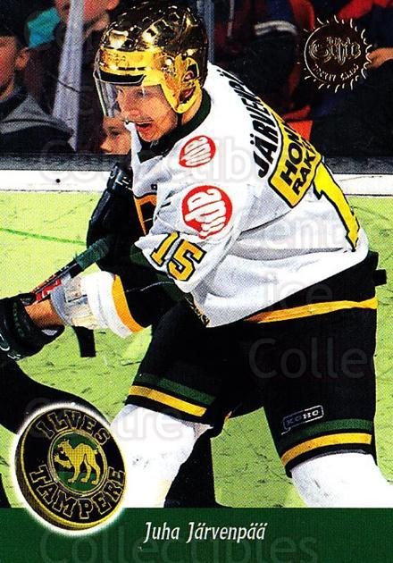 1994-95 Finnish SISU #87 Juha Jarvenpaa<br/>4 In Stock - $2.00 each - <a href=https://centericecollectibles.foxycart.com/cart?name=1994-95%20Finnish%20SISU%20%2387%20Juha%20Jarvenpaa...&quantity_max=4&price=$2.00&code=150147 class=foxycart> Buy it now! </a>