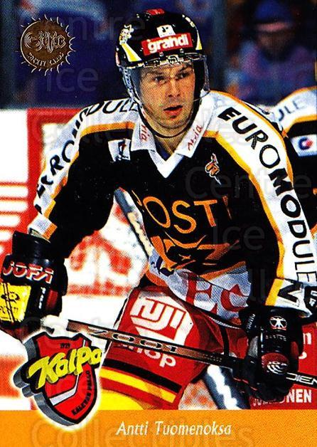 1994-95 Finnish SISU #89 Antti Tuomenoksa<br/>4 In Stock - $2.00 each - <a href=https://centericecollectibles.foxycart.com/cart?name=1994-95%20Finnish%20SISU%20%2389%20Antti%20Tuomenoks...&quantity_max=4&price=$2.00&code=150149 class=foxycart> Buy it now! </a>