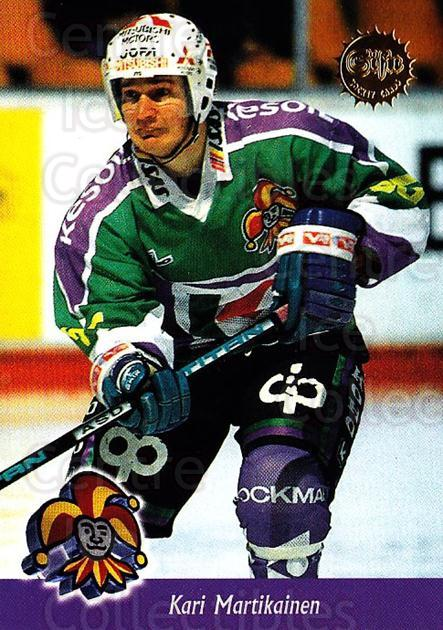 1994-95 Finnish SISU #95 Kari Martikainen<br/>3 In Stock - $2.00 each - <a href=https://centericecollectibles.foxycart.com/cart?name=1994-95%20Finnish%20SISU%20%2395%20Kari%20Martikaine...&quantity_max=3&price=$2.00&code=150156 class=foxycart> Buy it now! </a>