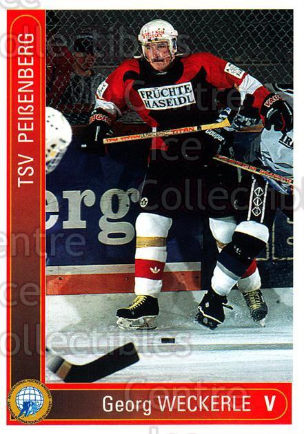 1994-95 German First League #241 Georg Weckerle<br/>6 In Stock - $2.00 each - <a href=https://centericecollectibles.foxycart.com/cart?name=1994-95%20German%20First%20League%20%23241%20Georg%20Weckerle...&price=$2.00&code=150163 class=foxycart> Buy it now! </a>