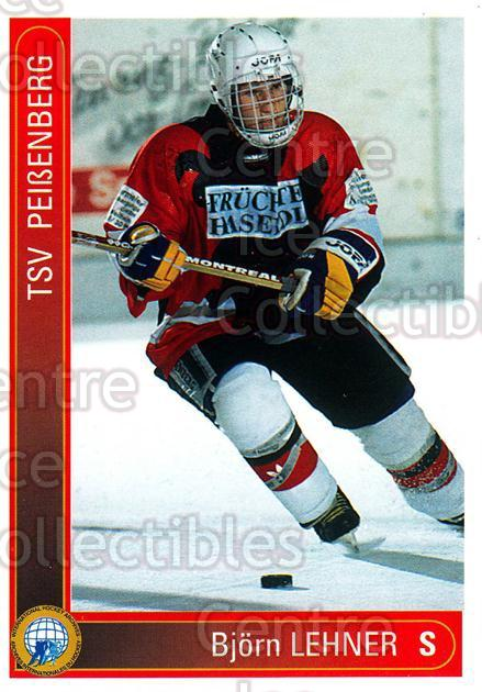 1994-95 German First League #250 Bjorn Lehner<br/>10 In Stock - $2.00 each - <a href=https://centericecollectibles.foxycart.com/cart?name=1994-95%20German%20First%20League%20%23250%20Bjorn%20Lehner...&price=$2.00&code=150173 class=foxycart> Buy it now! </a>
