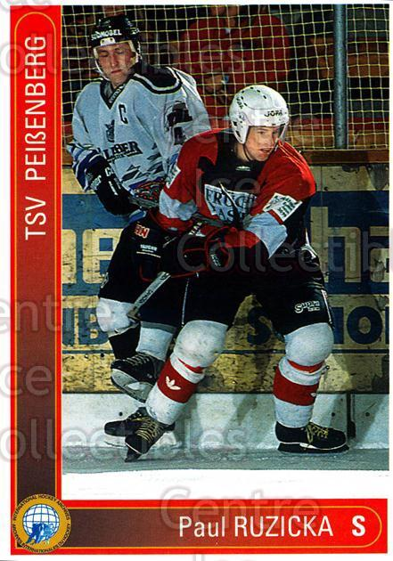1994-95 German First League #252 Paul Ruzicka<br/>12 In Stock - $2.00 each - <a href=https://centericecollectibles.foxycart.com/cart?name=1994-95%20German%20First%20League%20%23252%20Paul%20Ruzicka...&price=$2.00&code=150175 class=foxycart> Buy it now! </a>