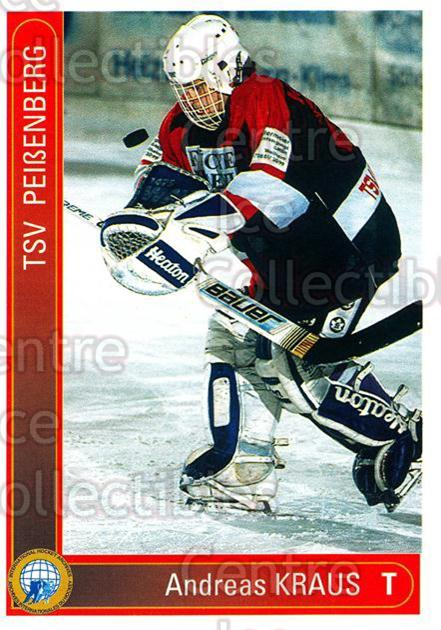 1994-95 German First League #253 Andreas Kraus<br/>15 In Stock - $2.00 each - <a href=https://centericecollectibles.foxycart.com/cart?name=1994-95%20German%20First%20League%20%23253%20Andreas%20Kraus...&price=$2.00&code=150176 class=foxycart> Buy it now! </a>