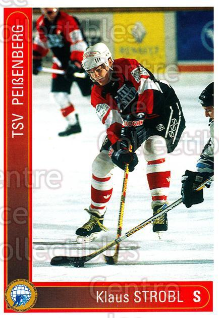 1994-95 German First League #256 Klaus Strobl<br/>13 In Stock - $2.00 each - <a href=https://centericecollectibles.foxycart.com/cart?name=1994-95%20German%20First%20League%20%23256%20Klaus%20Strobl...&price=$2.00&code=150179 class=foxycart> Buy it now! </a>
