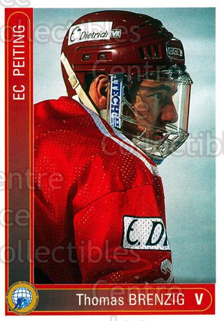 1994-95 German First League #264 Thomas Brenzig<br/>9 In Stock - $2.00 each - <a href=https://centericecollectibles.foxycart.com/cart?name=1994-95%20German%20First%20League%20%23264%20Thomas%20Brenzig...&quantity_max=9&price=$2.00&code=150188 class=foxycart> Buy it now! </a>