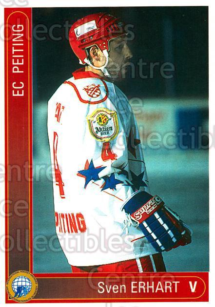 1994-95 German First League #265 Sven Erhart<br/>3 In Stock - $2.00 each - <a href=https://centericecollectibles.foxycart.com/cart?name=1994-95%20German%20First%20League%20%23265%20Sven%20Erhart...&quantity_max=3&price=$2.00&code=150189 class=foxycart> Buy it now! </a>