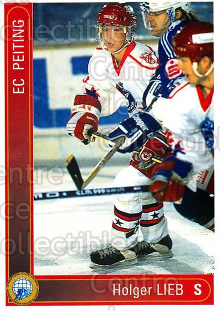 1994-95 German First League #266 Holger Lieb<br/>9 In Stock - $2.00 each - <a href=https://centericecollectibles.foxycart.com/cart?name=1994-95%20German%20First%20League%20%23266%20Holger%20Lieb...&quantity_max=9&price=$2.00&code=150190 class=foxycart> Buy it now! </a>