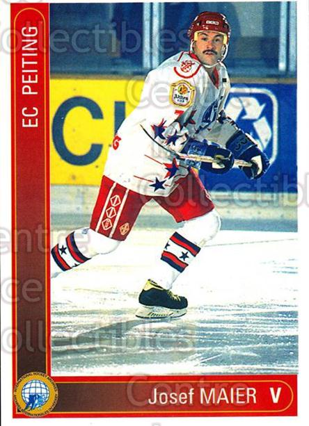 1994-95 German First League #267 Josef Maier<br/>9 In Stock - $2.00 each - <a href=https://centericecollectibles.foxycart.com/cart?name=1994-95%20German%20First%20League%20%23267%20Josef%20Maier...&quantity_max=9&price=$2.00&code=150191 class=foxycart> Buy it now! </a>
