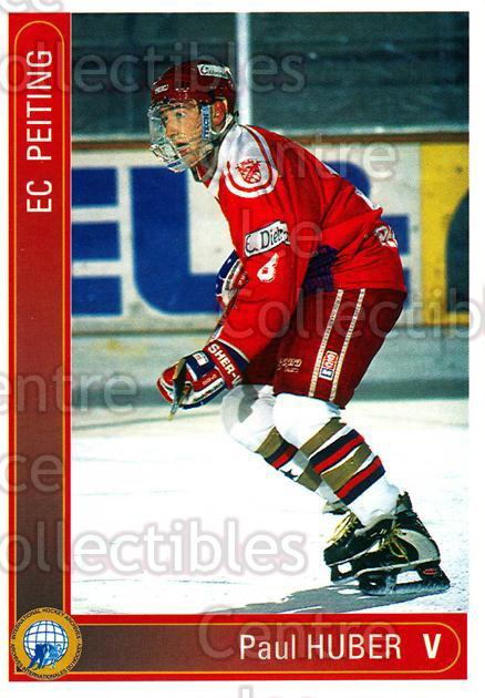 1994-95 German First League #268 Paul Huber<br/>19 In Stock - $2.00 each - <a href=https://centericecollectibles.foxycart.com/cart?name=1994-95%20German%20First%20League%20%23268%20Paul%20Huber...&quantity_max=19&price=$2.00&code=150192 class=foxycart> Buy it now! </a>