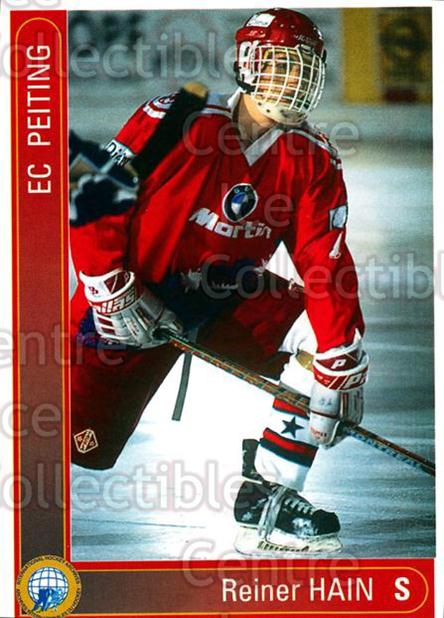 1994-95 German First League #269 Rainer Hain<br/>10 In Stock - $2.00 each - <a href=https://centericecollectibles.foxycart.com/cart?name=1994-95%20German%20First%20League%20%23269%20Rainer%20Hain...&quantity_max=10&price=$2.00&code=150193 class=foxycart> Buy it now! </a>