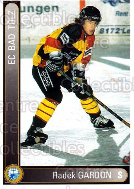 1994-95 German First League #27 Radek Gardon<br/>4 In Stock - $2.00 each - <a href=https://centericecollectibles.foxycart.com/cart?name=1994-95%20German%20First%20League%20%2327%20Radek%20Gardon...&quantity_max=4&price=$2.00&code=150194 class=foxycart> Buy it now! </a>