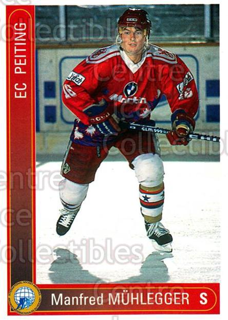 1994-95 German First League #272 Manfred Muhlegger<br/>8 In Stock - $2.00 each - <a href=https://centericecollectibles.foxycart.com/cart?name=1994-95%20German%20First%20League%20%23272%20Manfred%20Muhlegg...&quantity_max=8&price=$2.00&code=150197 class=foxycart> Buy it now! </a>