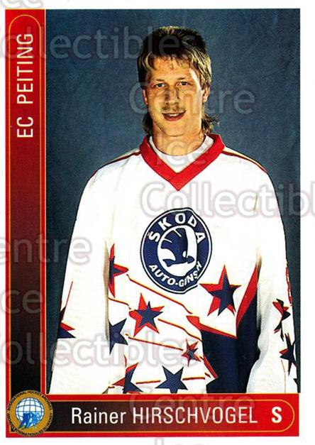 1994-95 German First League #276 Rainer Hirschvogel<br/>17 In Stock - $2.00 each - <a href=https://centericecollectibles.foxycart.com/cart?name=1994-95%20German%20First%20League%20%23276%20Rainer%20Hirschvo...&quantity_max=17&price=$2.00&code=150201 class=foxycart> Buy it now! </a>