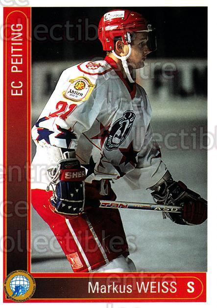 1994-95 German First League #277 Markus Weiss<br/>13 In Stock - $2.00 each - <a href=https://centericecollectibles.foxycart.com/cart?name=1994-95%20German%20First%20League%20%23277%20Markus%20Weiss...&quantity_max=13&price=$2.00&code=150202 class=foxycart> Buy it now! </a>