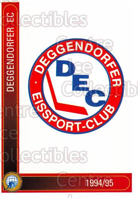1994-95 German First League #28 Deggendorf EC<br/>9 In Stock - $2.00 each - <a href=https://centericecollectibles.foxycart.com/cart?name=1994-95%20German%20First%20League%20%2328%20Deggendorf%20EC...&price=$2.00&code=150205 class=foxycart> Buy it now! </a>