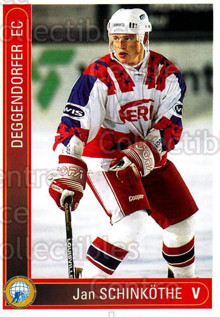 1994-95 German First League #31 Jan Schinkothe<br/>14 In Stock - $2.00 each - <a href=https://centericecollectibles.foxycart.com/cart?name=1994-95%20German%20First%20League%20%2331%20Jan%20Schinkothe...&price=$2.00&code=150236 class=foxycart> Buy it now! </a>