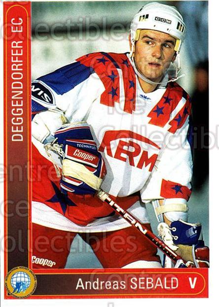 1994-95 German First League #32 Andreas Sebald<br/>12 In Stock - $2.00 each - <a href=https://centericecollectibles.foxycart.com/cart?name=1994-95%20German%20First%20League%20%2332%20Andreas%20Sebald...&price=$2.00&code=150247 class=foxycart> Buy it now! </a>