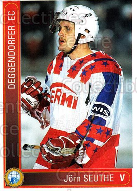 1994-95 German First League #33 Jorn Seuthe<br/>13 In Stock - $2.00 each - <a href=https://centericecollectibles.foxycart.com/cart?name=1994-95%20German%20First%20League%20%2333%20Jorn%20Seuthe...&price=$2.00&code=150258 class=foxycart> Buy it now! </a>