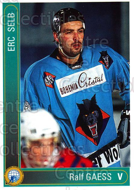 1994-95 German First League #333 Ralf Gaess<br/>5 In Stock - $2.00 each - <a href=https://centericecollectibles.foxycart.com/cart?name=1994-95%20German%20First%20League%20%23333%20Ralf%20Gaess...&quantity_max=5&price=$2.00&code=150262 class=foxycart> Buy it now! </a>