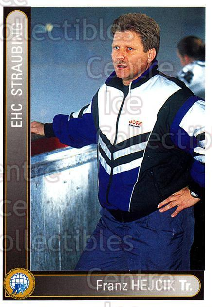 1994-95 German First League #335 Franz Hejcik<br/>10 In Stock - $2.00 each - <a href=https://centericecollectibles.foxycart.com/cart?name=1994-95%20German%20First%20League%20%23335%20Franz%20Hejcik...&quantity_max=10&price=$2.00&code=150265 class=foxycart> Buy it now! </a>