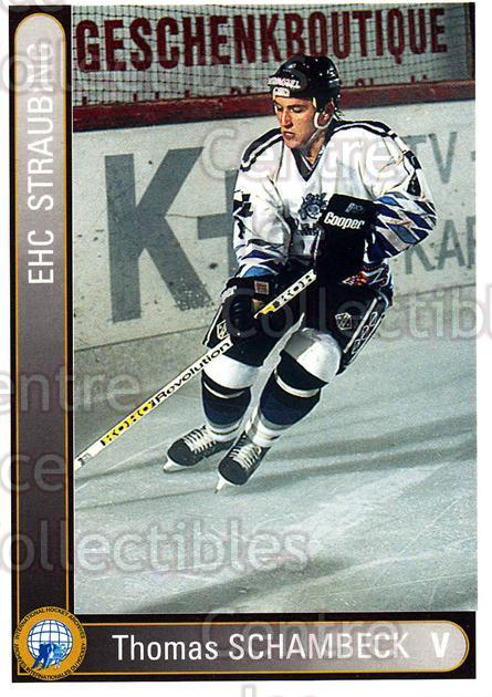 1994-95 German First League #339 Thomas Schambeck<br/>2 In Stock - $2.00 each - <a href=https://centericecollectibles.foxycart.com/cart?name=1994-95%20German%20First%20League%20%23339%20Thomas%20Schambec...&quantity_max=2&price=$2.00&code=150268 class=foxycart> Buy it now! </a>