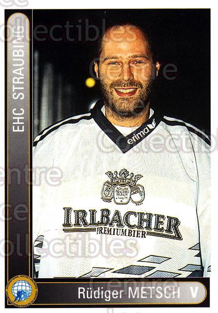 1994-95 German First League #346 Rudiger Metsch<br/>12 In Stock - $2.00 each - <a href=https://centericecollectibles.foxycart.com/cart?name=1994-95%20German%20First%20League%20%23346%20Rudiger%20Metsch...&quantity_max=12&price=$2.00&code=150275 class=foxycart> Buy it now! </a>