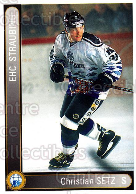 1994-95 German First League #347 Christian Setz<br/>4 In Stock - $2.00 each - <a href=https://centericecollectibles.foxycart.com/cart?name=1994-95%20German%20First%20League%20%23347%20Christian%20Setz...&quantity_max=4&price=$2.00&code=150276 class=foxycart> Buy it now! </a>