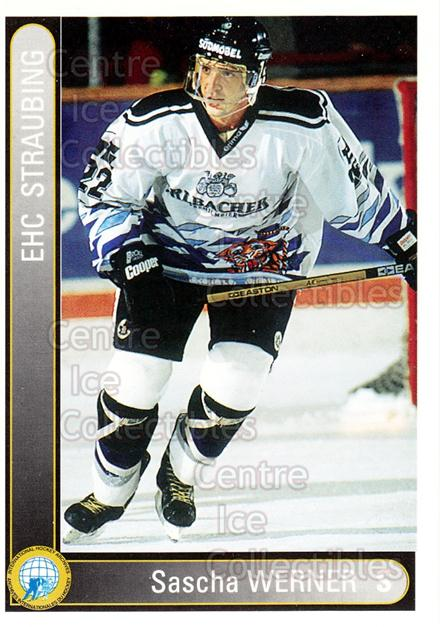 1994-95 German First League #348 Sascha Werner<br/>2 In Stock - $2.00 each - <a href=https://centericecollectibles.foxycart.com/cart?name=1994-95%20German%20First%20League%20%23348%20Sascha%20Werner...&quantity_max=2&price=$2.00&code=150277 class=foxycart> Buy it now! </a>