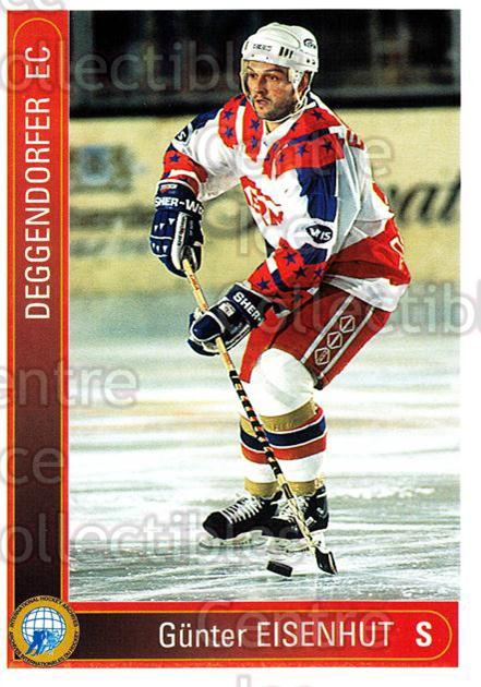 1994-95 German First League #35 Gunther Eisenhut<br/>9 In Stock - $2.00 each - <a href=https://centericecollectibles.foxycart.com/cart?name=1994-95%20German%20First%20League%20%2335%20Gunther%20Eisenhu...&quantity_max=9&price=$2.00&code=150280 class=foxycart> Buy it now! </a>