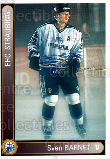 1994-95 German First League #352 Sven Barnet<br/>10 In Stock - $2.00 each - <a href=https://centericecollectibles.foxycart.com/cart?name=1994-95%20German%20First%20League%20%23352%20Sven%20Barnet...&quantity_max=10&price=$2.00&code=150284 class=foxycart> Buy it now! </a>