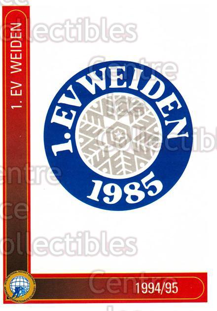 1994-95 German First League #354 Weiden EV<br/>12 In Stock - $2.00 each - <a href=https://centericecollectibles.foxycart.com/cart?name=1994-95%20German%20First%20League%20%23354%20Weiden%20EV...&quantity_max=12&price=$2.00&code=150286 class=foxycart> Buy it now! </a>