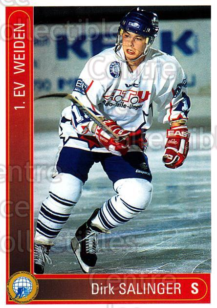 1994-95 German First League #361 Dirk Salinger<br/>3 In Stock - $2.00 each - <a href=https://centericecollectibles.foxycart.com/cart?name=1994-95%20German%20First%20League%20%23361%20Dirk%20Salinger...&quantity_max=3&price=$2.00&code=150292 class=foxycart> Buy it now! </a>