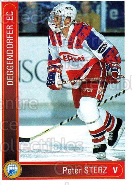 1994-95 German First League #38 Peter Sterz<br/>7 In Stock - $2.00 each - <a href=https://centericecollectibles.foxycart.com/cart?name=1994-95%20German%20First%20League%20%2338%20Peter%20Sterz...&quantity_max=7&price=$2.00&code=150312 class=foxycart> Buy it now! </a>
