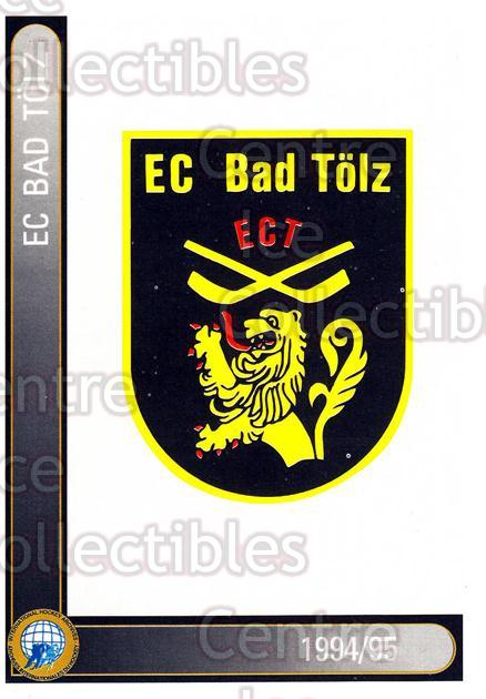 1994-95 German First League #4 EC Bad Tolz<br/>7 In Stock - $2.00 each - <a href=https://centericecollectibles.foxycart.com/cart?name=1994-95%20German%20First%20League%20%234%20EC%20Bad%20Tolz...&quantity_max=7&price=$2.00&code=150333 class=foxycart> Buy it now! </a>
