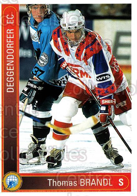 1994-95 German First League #40 Thomas Brandl<br/>11 In Stock - $2.00 each - <a href=https://centericecollectibles.foxycart.com/cart?name=1994-95%20German%20First%20League%20%2340%20Thomas%20Brandl...&price=$2.00&code=150334 class=foxycart> Buy it now! </a>