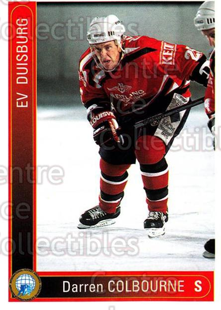 1994-95 German First League #428 Darren Colbourne<br/>7 In Stock - $2.00 each - <a href=https://centericecollectibles.foxycart.com/cart?name=1994-95%20German%20First%20League%20%23428%20Darren%20Colbourn...&quantity_max=7&price=$2.00&code=150364 class=foxycart> Buy it now! </a>
