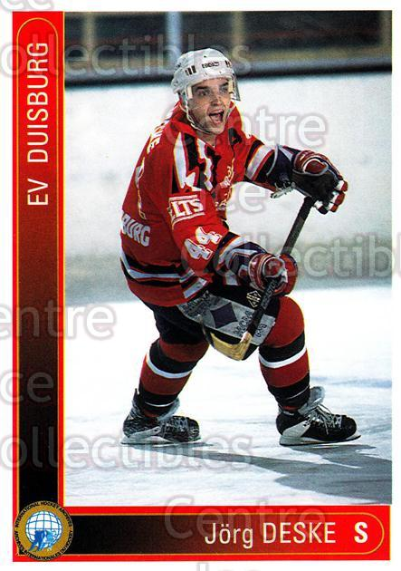 1994-95 German First League #433 Jorg Deske<br/>9 In Stock - $2.00 each - <a href=https://centericecollectibles.foxycart.com/cart?name=1994-95%20German%20First%20League%20%23433%20Jorg%20Deske...&quantity_max=9&price=$2.00&code=150370 class=foxycart> Buy it now! </a>