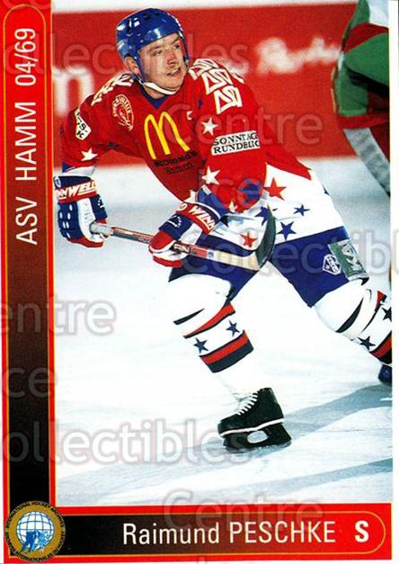 1994-95 German First League #443 Raimund Peschke<br/>15 In Stock - $2.00 each - <a href=https://centericecollectibles.foxycart.com/cart?name=1994-95%20German%20First%20League%20%23443%20Raimund%20Peschke...&quantity_max=15&price=$2.00&code=150381 class=foxycart> Buy it now! </a>
