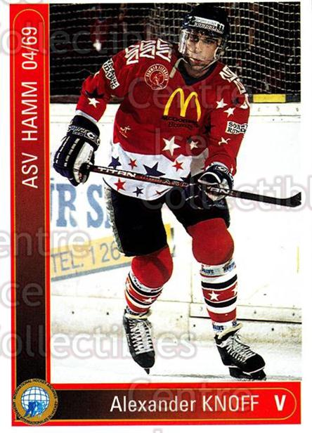 1994-95 German First League #447 Alexander Knoff<br/>6 In Stock - $2.00 each - <a href=https://centericecollectibles.foxycart.com/cart?name=1994-95%20German%20First%20League%20%23447%20Alexander%20Knoff...&quantity_max=6&price=$2.00&code=150385 class=foxycart> Buy it now! </a>